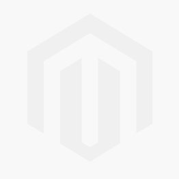 Topaz Silver Orange and White Striped Band Ring RI-561