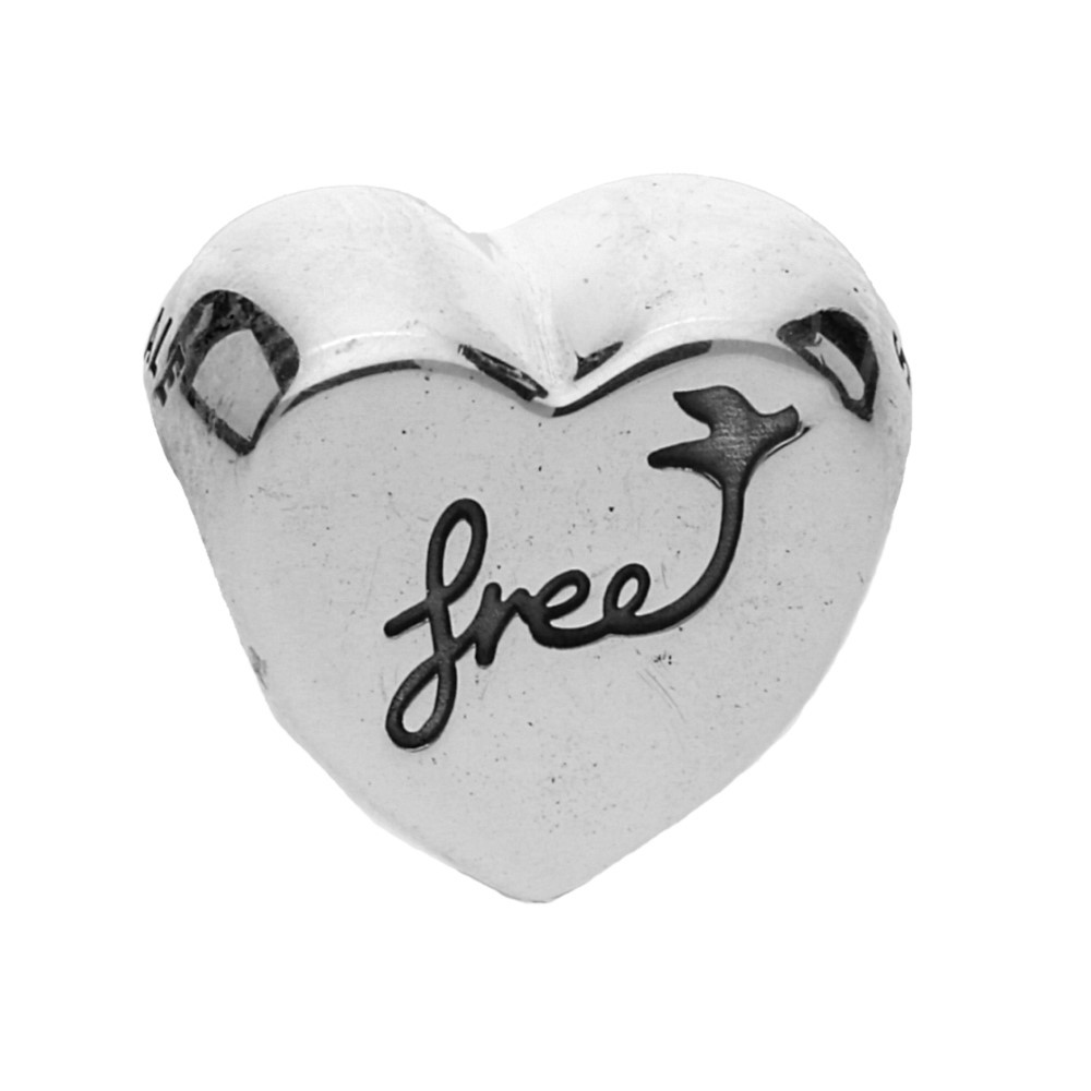 112094ef5 PandoraSilver Heart of Freedom Charm 791967. £30.00. Click to enlarge. Drag  image to spin