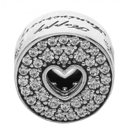 c93913c61 PandoraHappy Anniversary Charm 791977CZ. £55.00. Click to enlarge. Drag  image to spin