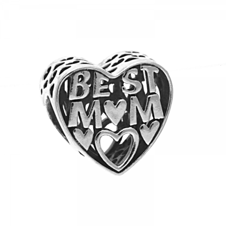 Pandora Women Silver Bead Charm - 791882 CnAUxVL