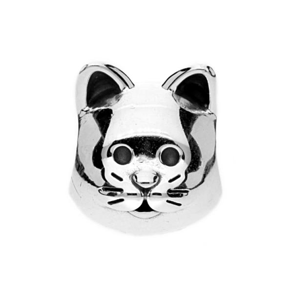 Pandora Silver Curious Cat Charm 791706 The Jewel Hut