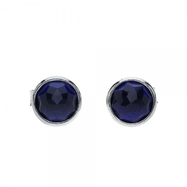 Pandora Earrings Birthstone: Pandora September Birthstone Sapphire Droplet Earrings