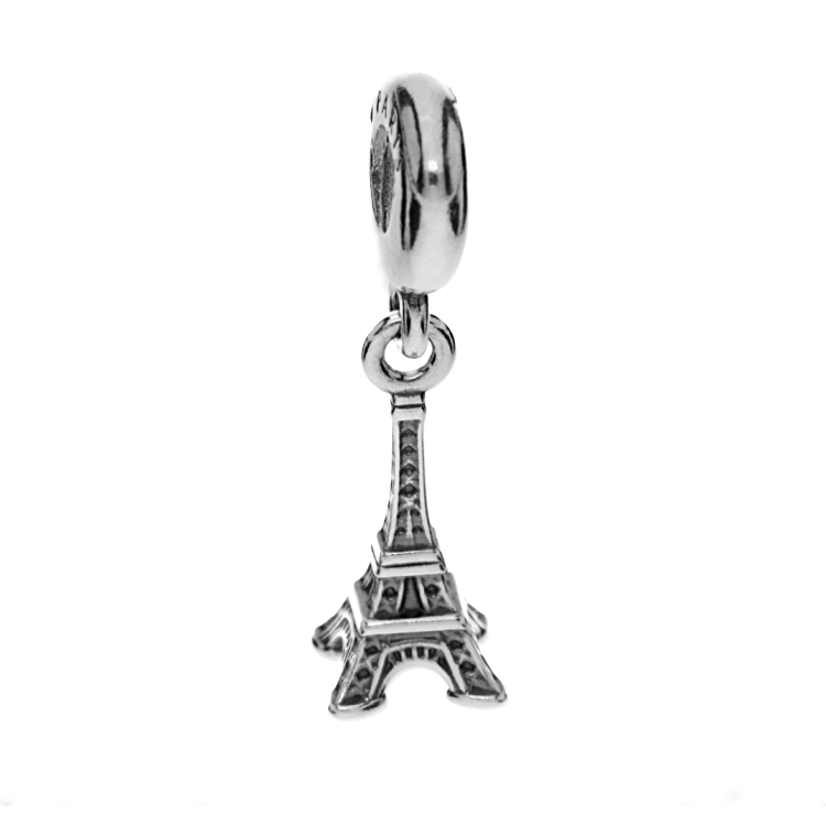 7ea4f3667 Pandora Silver National Icon Eiffel Tower Charm Bead 791082 | The ...