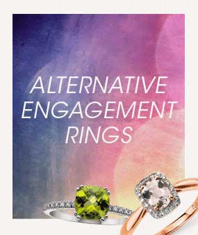Alternative Engagement Rings