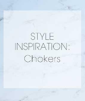 Style Inspiration: Chokers